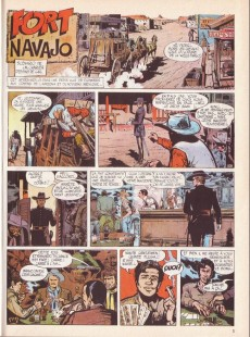 Extrait de Blueberry -1b91- Fort Navajo