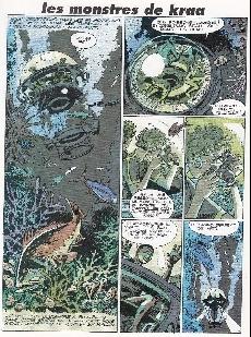 Extrait de Cogan -3- Les monstres des abysses