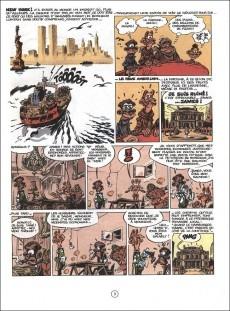 Extrait de Spirou et Fantasio -39Pub1- Spirou à New York