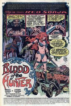 Extrait de Marvel Feature (1975) -2- Blood of the hunter