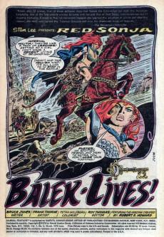 Extrait de Marvel Feature (1975) -3- Balek lives!