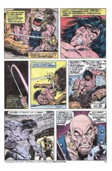 Extrait de Conan the Barbarian Vol 1 (Marvel - 1970) -34- The temptress in the tower of flame!