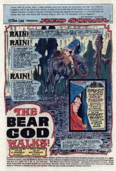 Extrait de Marvel Feature (1975) -5- The bear god walks!