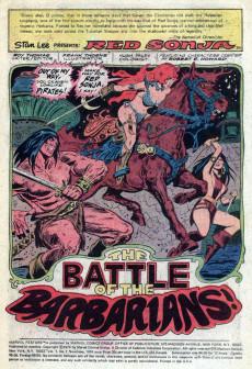 Extrait de Marvel Feature (1975) -7- The battle of the barbarians!