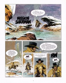 Extrait de Blueberry (Marshal) -2- Mission Sherman