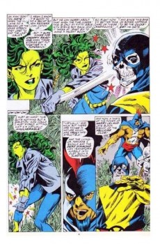 Extrait de Sensational She-Hulk (The) (1989) -35- Hail, hail the gang's all dead