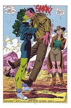 Extrait de Sensational She-Hulk (The) (1989) -36- Plastic snow and mistletoe