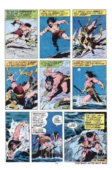 Extrait de Conan the Barbarian Vol 1 (Marvel - 1970) -39- The dragon from the inland sea!