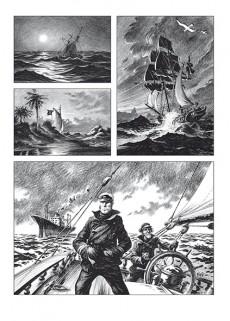 Extrait de Hommes à la mer - Tome TL