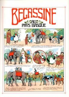 Extrait de Bécassine -12c94- Bécassine au Pays Basque