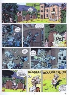 Extrait de Spirou et Fantasio -5148hBD- Alerte aux Zorkons