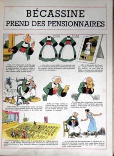 Extrait de Bécassine -20a57- Bécassine prend des pensionnaires