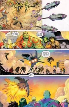 Extrait de Guardians Team-Up (2015) -1- Guardians Of The Galaxy Meet The Avenger, part 1