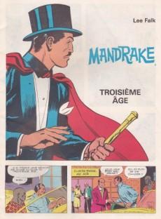 Extrait de Mandrake (1e Série - Remparts) (Mondes Mystérieux - 1) -442- Troisième âge