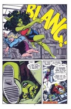 Extrait de Sensational She-Hulk (The) (1989) -41- Rock and ruin