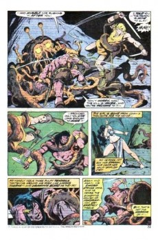 Extrait de Conan the Barbarian Vol 1 (Marvel - 1970) -45- The Last Ballad of Laza-Lanti
