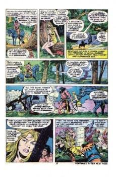 Extrait de Conan the Barbarian Vol 1 (Marvel - 1970) -46- The curse of the conjurer!