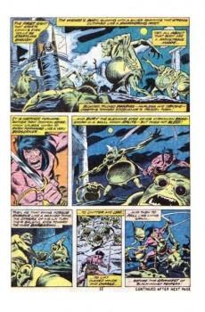 Extrait de Conan the Barbarian Vol 1 (Marvel - 1970) -47- The goblins strike at midnight!
