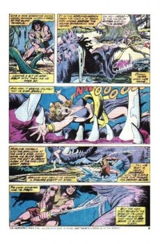 Extrait de Conan the Barbarian Vol 1 (Marvel - 1970) -50- The dweller in the pool!