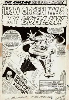 Extrait de The amazing Spider-Man Vol.1 (Marvel comics - 1963) -INT- John Romita's The Amazing Spider Man Artifact Edition
