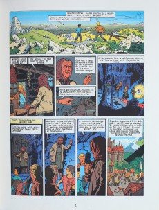 Extrait de Lefranc -5a1981- Les portes de l'enfer