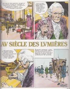 Extrait de Histoire de France en bandes dessinées -14a- Louis XV, l'indépendance américaine