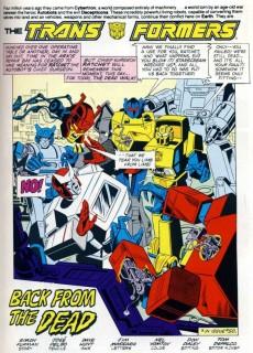 Extrait de Transformers (The) (1984) -INT11- Primal Scream