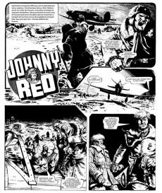 Extrait de Johnny Red -2- Le Diable rouge