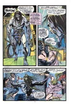 Extrait de Conan the Barbarian Vol 1 (Marvel - 1970) -52- The altar and the scorpion!