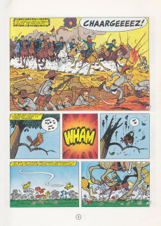 Extrait de Les tuniques Bleues -12b1985- Les Bleus tournent cosaques
