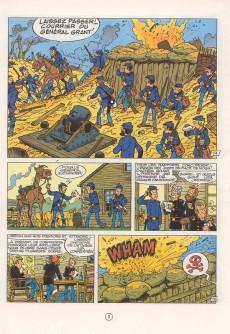 Extrait de Les tuniques Bleues -22a1986- Des bleus et des dentelles