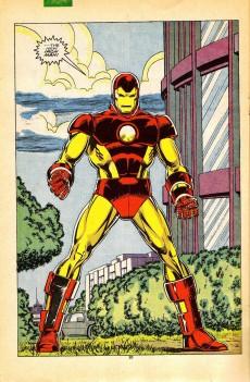 Extrait de Iron Man Vol.1 (Marvel comics - 1968) -231- Reborn again