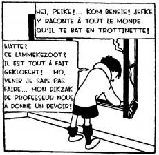 Extrait de Quick et Flupke (en langues étrangères) -Brux- Ketjes des Marolles