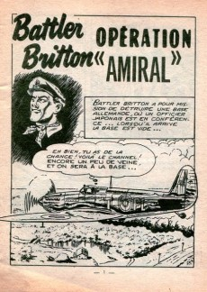 Extrait de Battler Britton -99- Opération « Amiral »