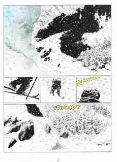 Extrait de Thorgal -15c 98- Le Maître des Montagnes