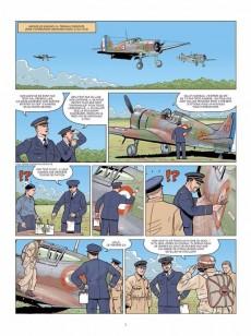 Extrait de Ciel de guerre -2- Cocardes en flammes