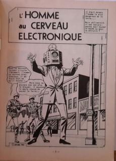 Extrait de Sidéral (1re série) -47- L'homme au cerveau électronique