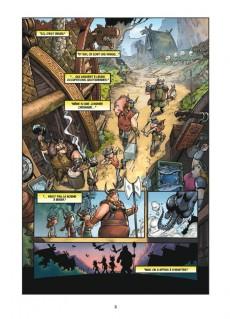 Extrait de Dragons (DreamWorks) -1- Tombé du ciel
