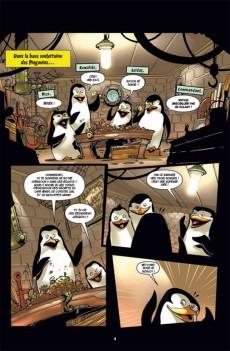 Extrait de Les pingouins de Madagascar (Soleil) -1- Complètement givrés