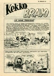 Extrait de El Bravo (Mon Journal) -22- La mine tragique