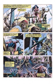 Extrait de Conan the Barbarian Vol 1 (Marvel - 1970) -58- Queen of the black coast!