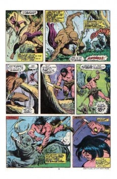Extrait de Conan the Barbarian Vol 1 (Marvel - 1970) -62- Lord of the lions!