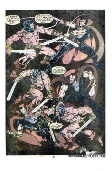Extrait de Conan the Barbarian Vol 1 (Marvel - 1970) -64- The secret of skull river!