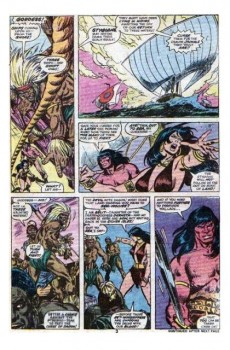 Extrait de Conan the Barbarian Vol 1 (Marvel - 1970) -65- Fiends of the feathered serpent!