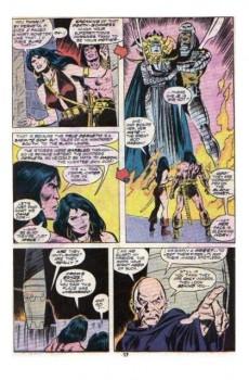 Extrait de Conan the Barbarian Vol 1 (Marvel - 1970) -66- Daggers and death-gods!