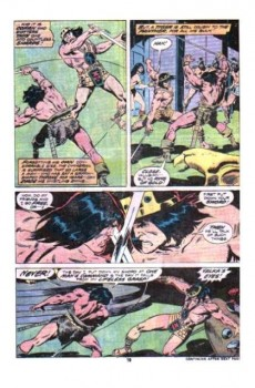 Extrait de Conan the Barbarian Vol 1 (Marvel - 1970) -68- Of once and future kings!