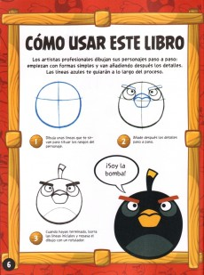 Extrait de Angry Birds - El cómic -HS- Aprende a dibujar
