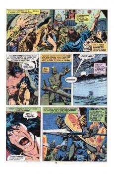 Extrait de Conan the Barbarian Vol 1 (Marvel - 1970) -74- The battle at the black walls!