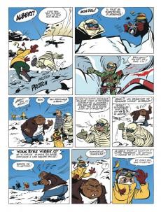 Extrait de Spirou et Fantasio (Une aventure de.../Le Spirou de...) -3c2014- Le tombeau des Champignac