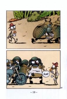 Extrait de Mini-récits et stripbooks Spirou -MR4022- Vermisseaux - Mic-mac à Flac-les-Plages